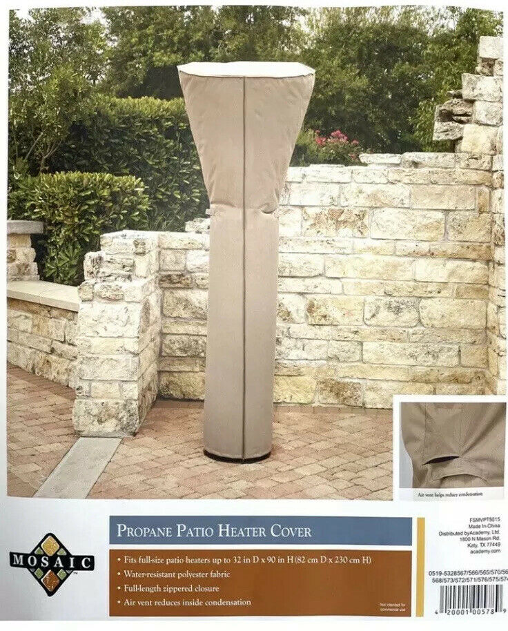 propane patio heater cover by mosaic 32