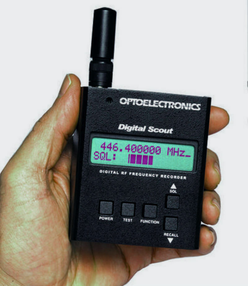 Optoelectronics Digital Scout Digital Bug Detector