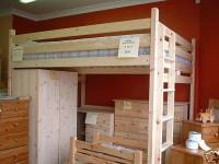 Double Loft Bed. High Sleeper. 4ft or 4ft 6in, 122/137cm