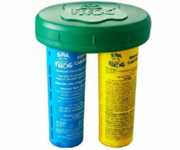 Spa Frog Floating System Mineral Bromine Cartridge Tub