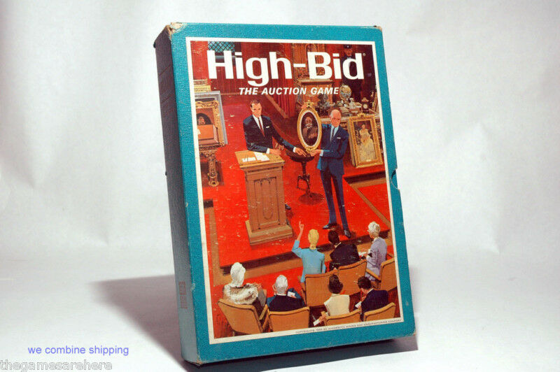 High Bid Auction Game from 3M 1968 COMPLETE  eBay