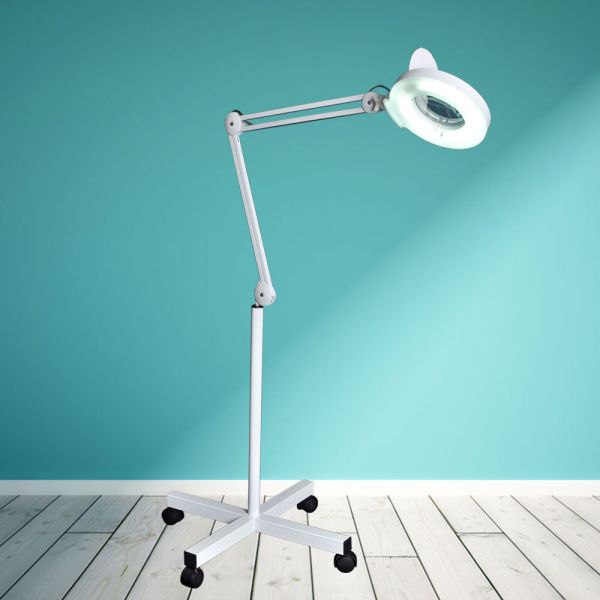 Magnifier Lamp Floor Standing Magnifying 5 X Magnification
