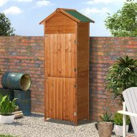 New Wooden Garden Shed Apex Sheds Tool Storage Cabinet ...