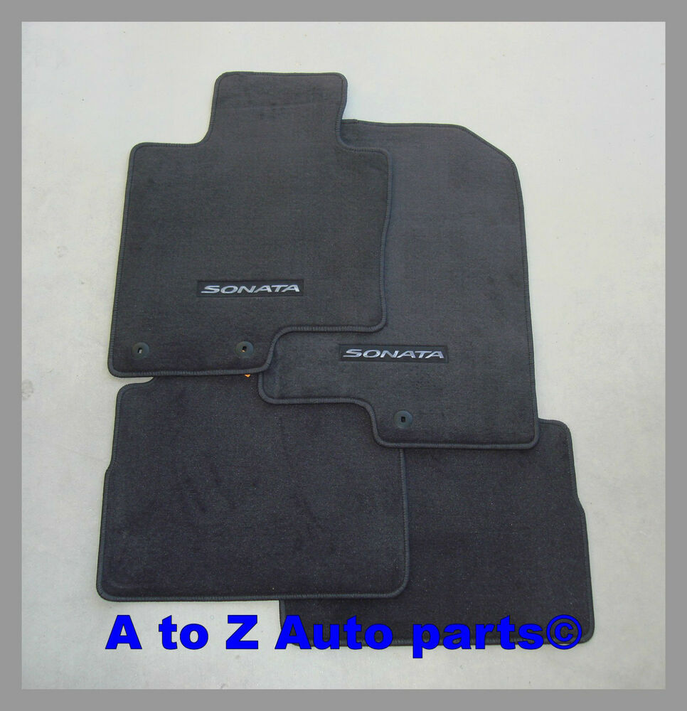 NEW 20112014 Hyundai Sonata FRONT  REAR set of Carpeted