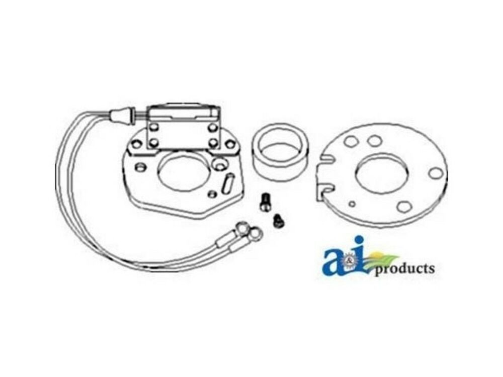 1247P6 Ignitor Kit 6V Positive Ground Fits Ford New