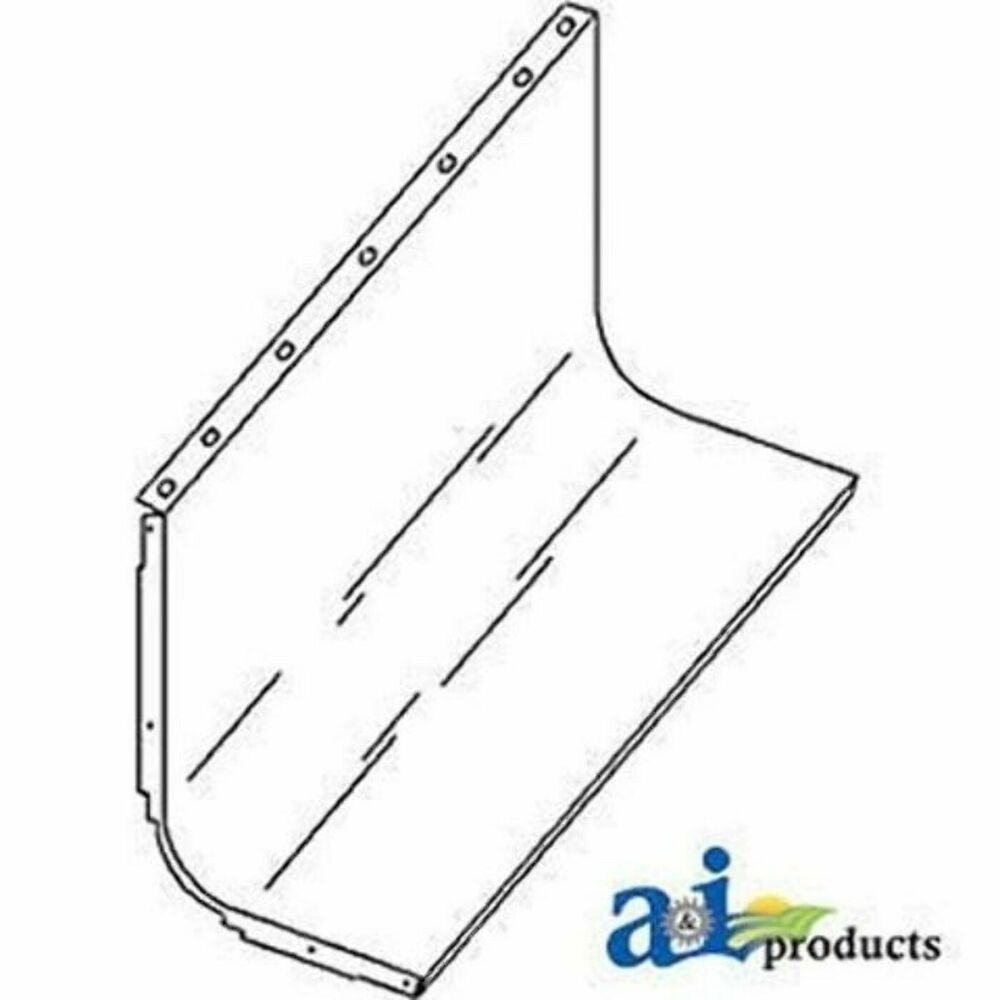 1541638C1 Clean Grain Trough Fits Case IH Combine 1644