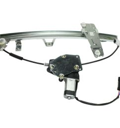 details about power window regulator for 2000 2004 jeep grand cherokee front left with motor [ 1000 x 1000 Pixel ]