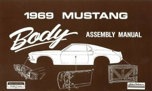 1969 Ford Mustang Body Assembly Manual Book Instructions Drawings OEM | eBay