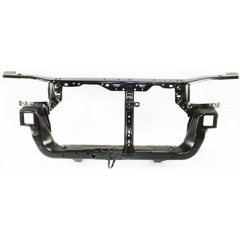 Radiator Support For 97-2001 Mitsubishi Mirage Sedan Black
