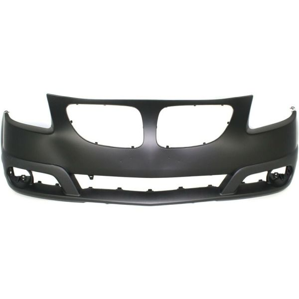 Front Bumper Cover 2005-2008 Pontiac Vibe With Fog Lamp