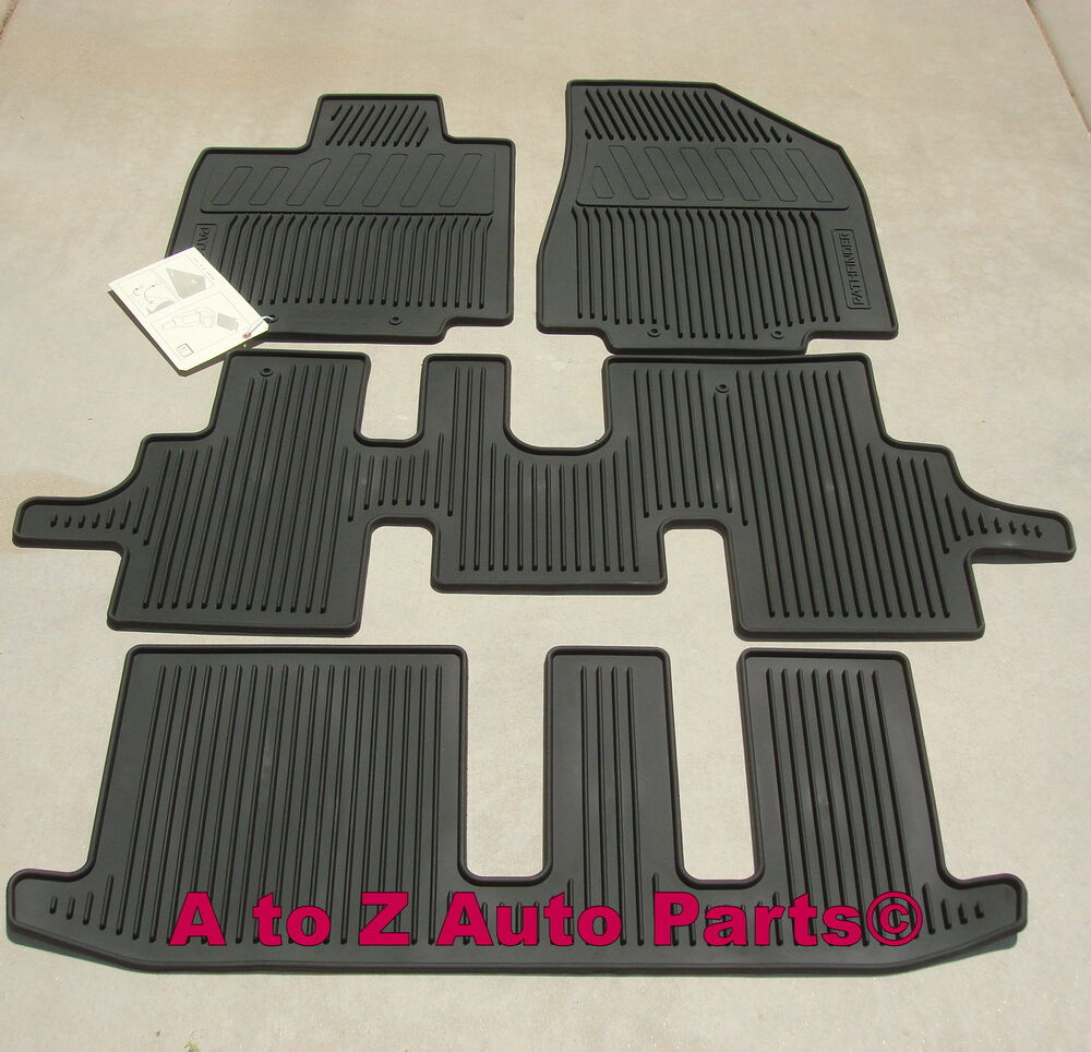 NEW For 20132017 Nissan Pathfinder ALLSEASON Floor Mats