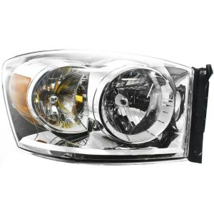 Headlight For 20072009 Dodge Ram 1500 Ram 2500 Passenger