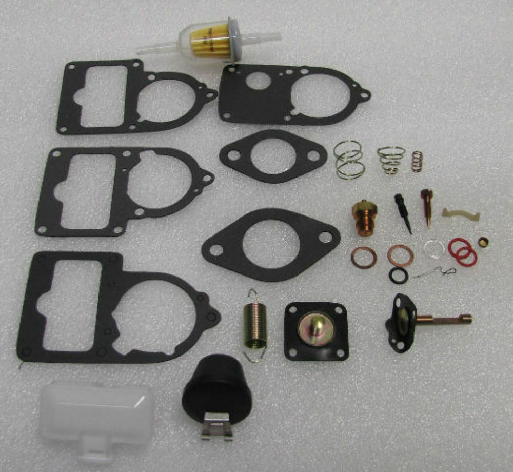 hight resolution of details about vw carburetor 34 30 28 pict 3 rebuild kit univ with floats bug bus ghia