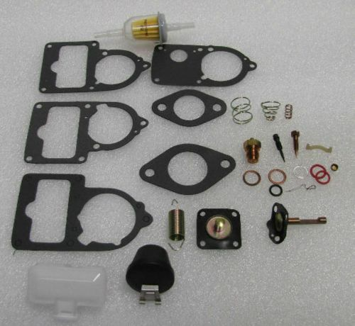 small resolution of details about vw carburetor 34 30 28 pict 3 rebuild kit univ with floats bug bus ghia