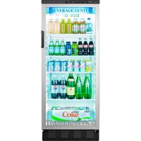 Commercial Reach-In Glass Door Refrigerator, Beverage ...