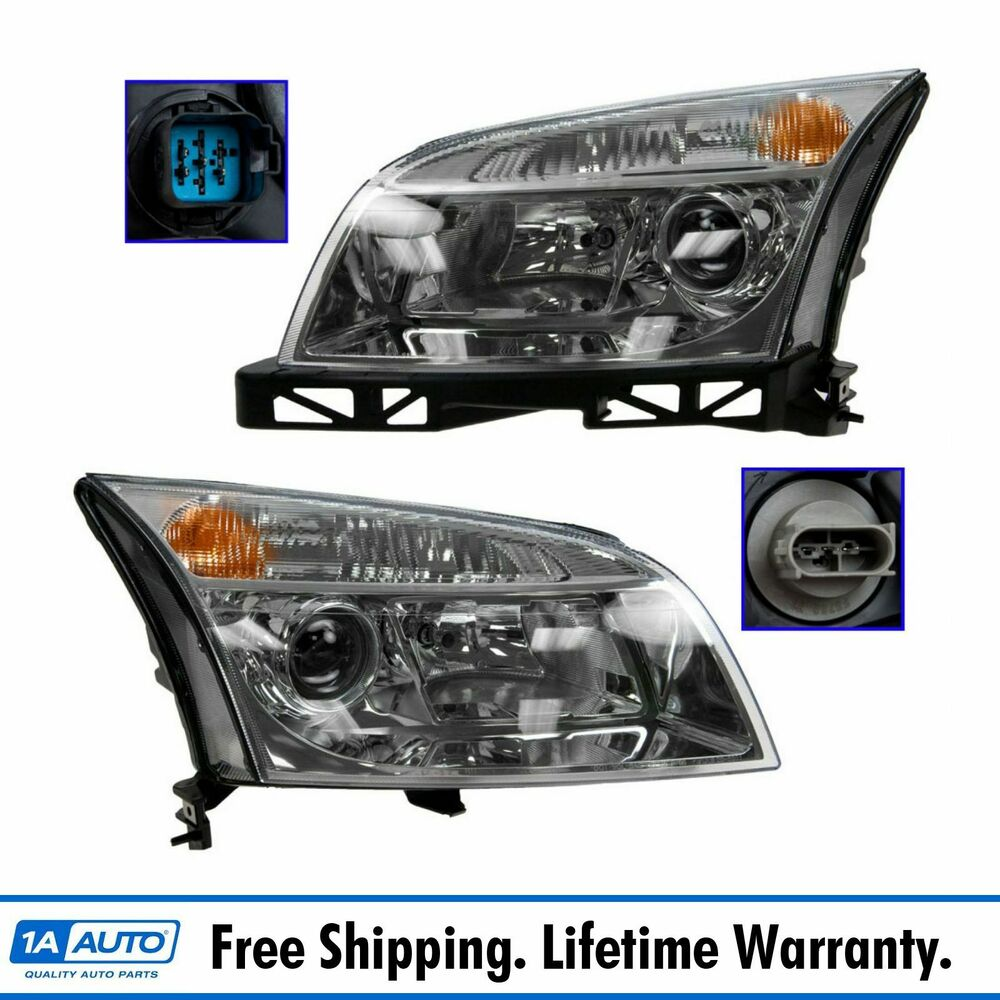 medium resolution of details about headlights headlamps left right pair set new for 06 09 mercury milan