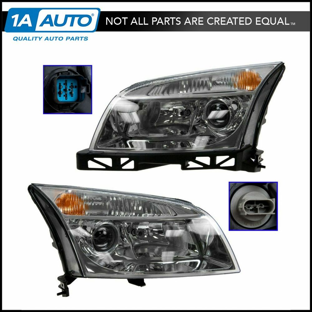 hight resolution of details about headlights headlamps left right pair set new for 06 09 mercury milan