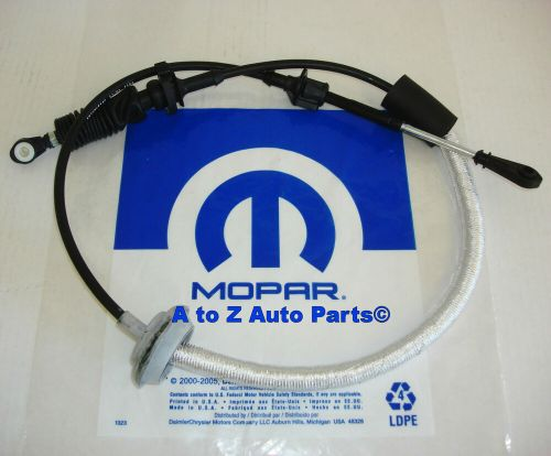 small resolution of details about new 2003 2006 jeep wrangler tj automatic transmission shift cable assembly mopar