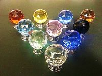 BEST Quality Crystal Glass Door Knobs Drawer Cabinet ...