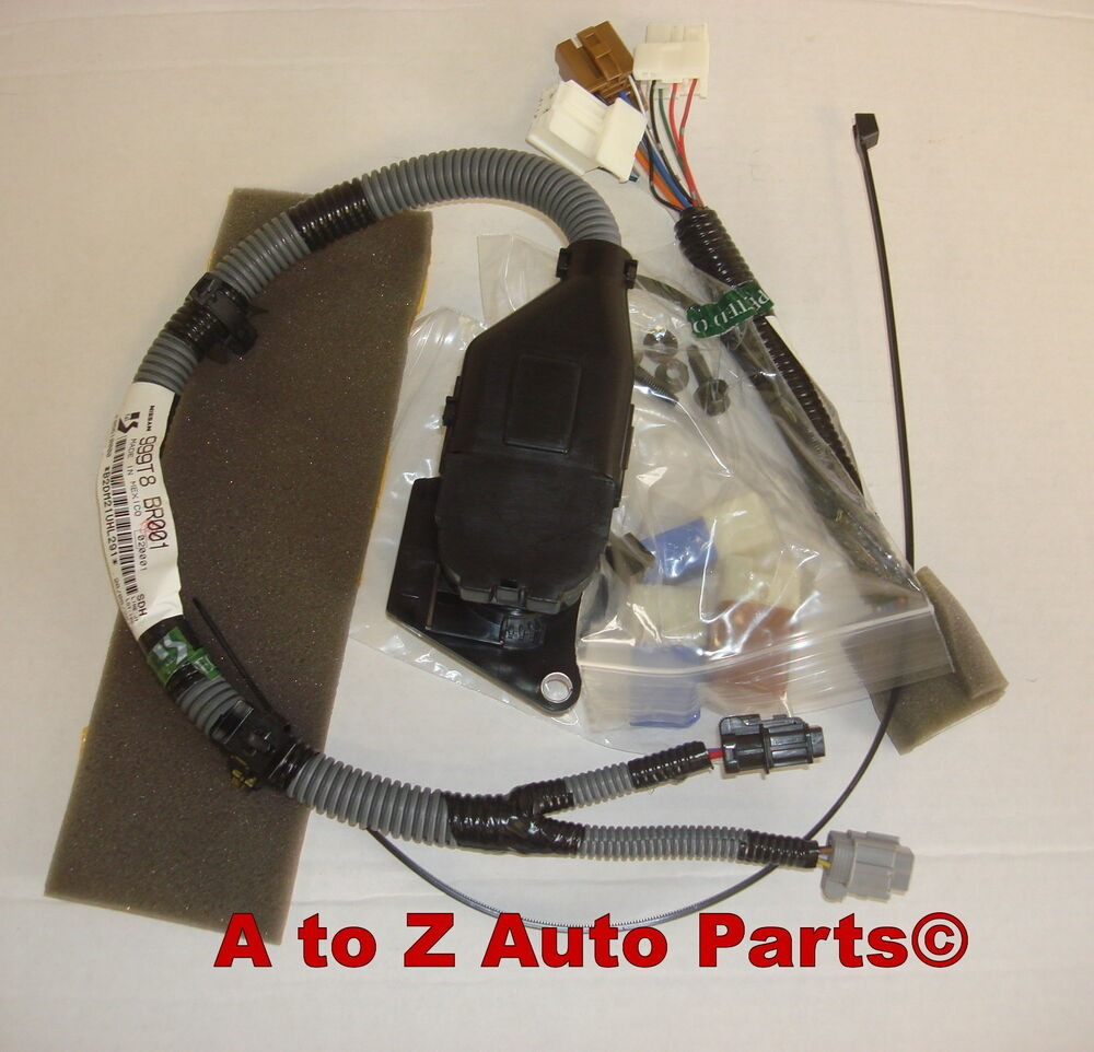 medium resolution of 2005 2018 nissan frontier 7 way complete trailer tow towing wiring harness