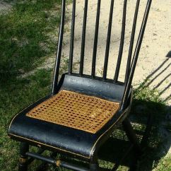 Cane Back Chairs Antique Steelcase Leap Chair V2 Victorian Eastlake Style Bottom And Windsor Rocking | Ebay