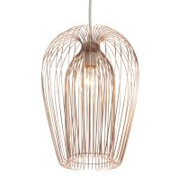 Contemporary Copper wire hanging ceiling light pendant
