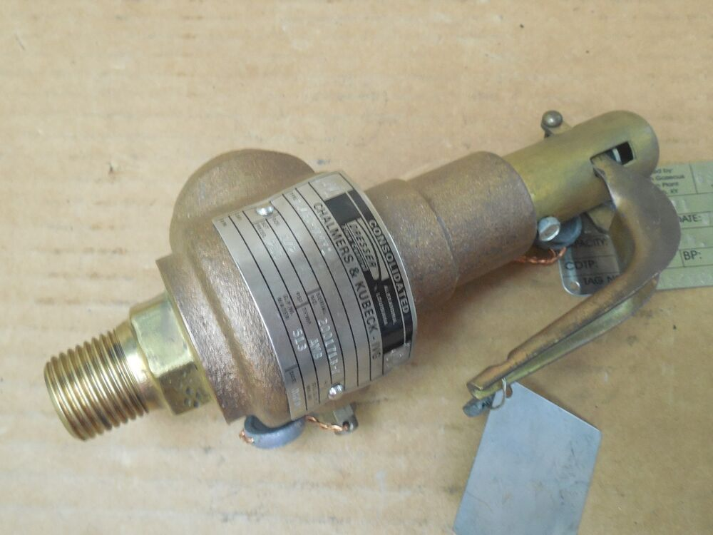 Dresser Consolidated Safety Valve 1543DXMY1 12 NPT 250