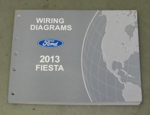 2013 Ford Fiesta Service Wiring Diagram Manual | eBay