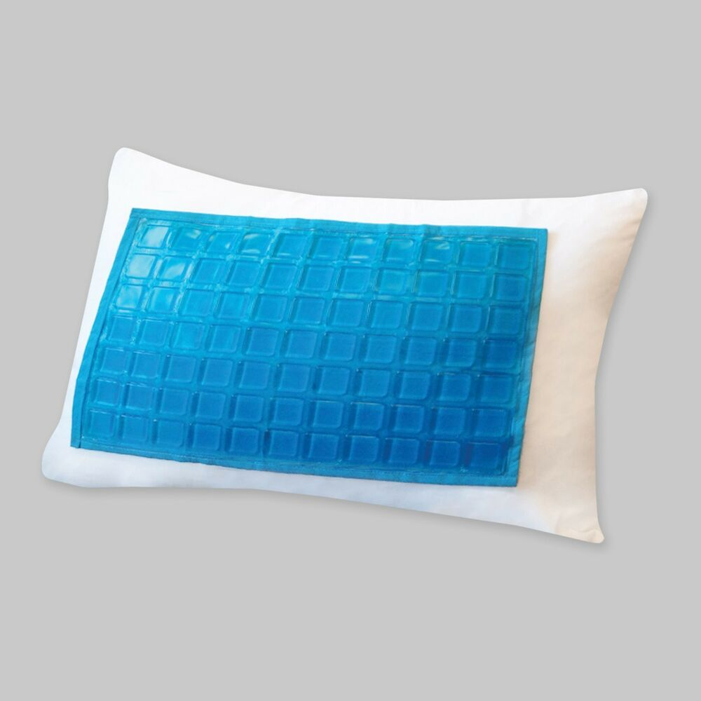 Cooling Gel Pillow ProtectorEncasement Zippered Makes