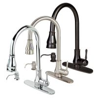 NEW Contemporary Kitchen Sink Faucet Pull-Out Spray Swivel ...