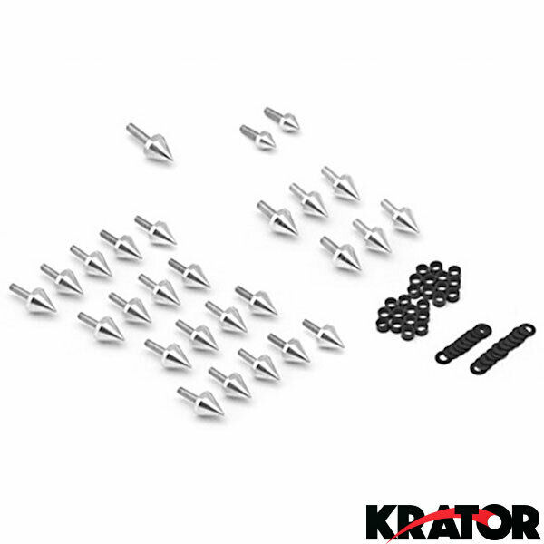 Racing Spiked Fairing Bolts Kit Set For Honda CBR 900RR