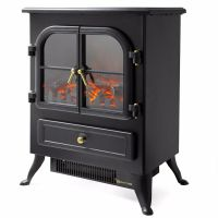 1500 watt free Standing Log Electric portable Fireplace ...