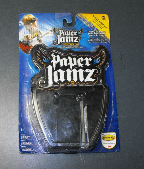 Wow Wee Paper Jamz Wall Mount Store Display Guitar In Style