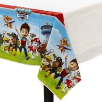 PAW PATROL PLASTIC TABLE COVER ~ Birthday Party Supplies