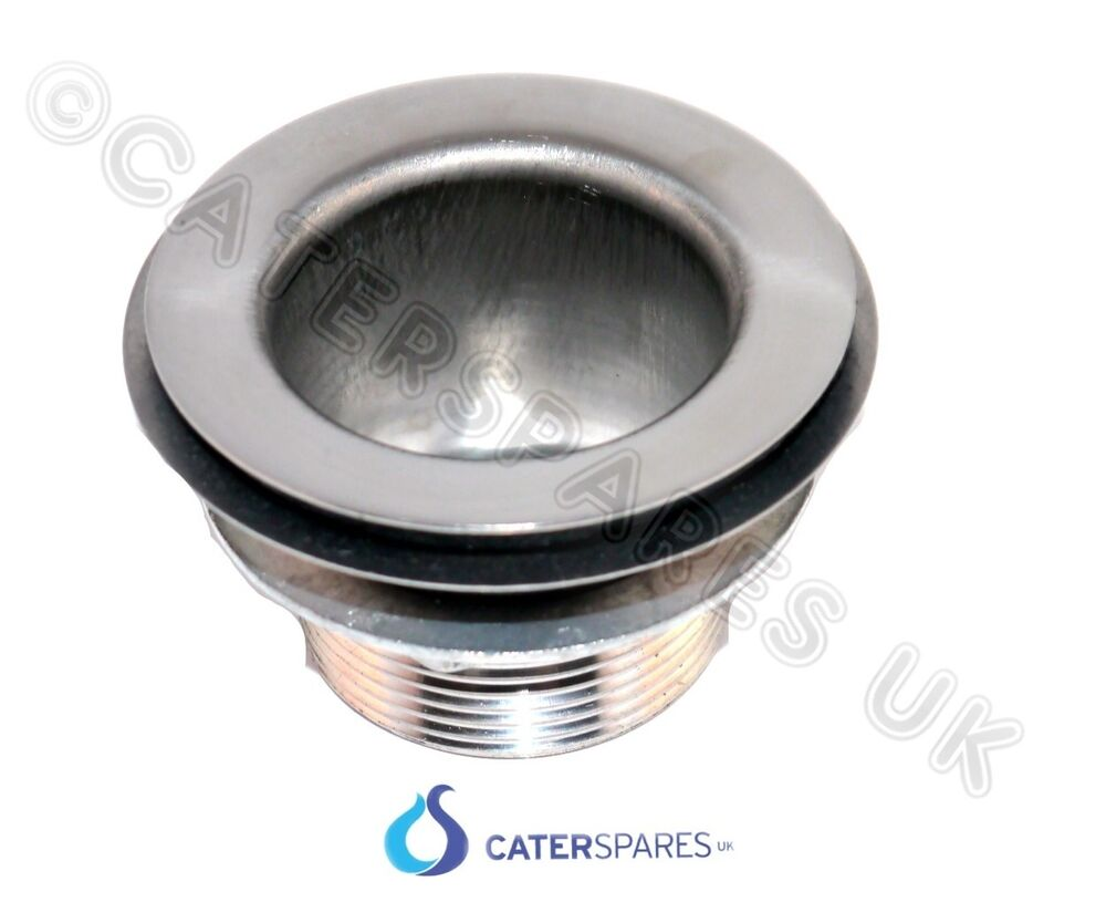 kitchen sink plug hole fitting trash can cabinet waste outlet for stainless steel commercial ...