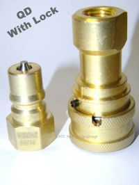 "Carpet cleaning 1/4"" M/F Quick Disconnect with Locks for ..."