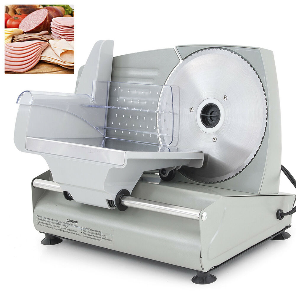 NEW 75 Electric Meat Slicer Blade Home Deli Food Slicer