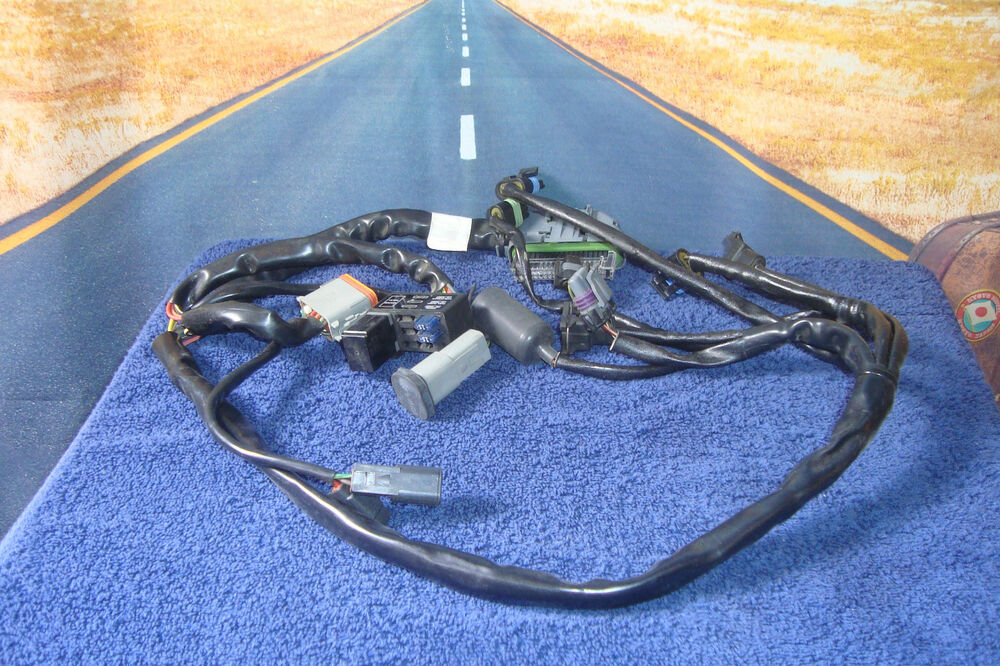 Wiring Harness For Ignition Module 02 Fits Harley