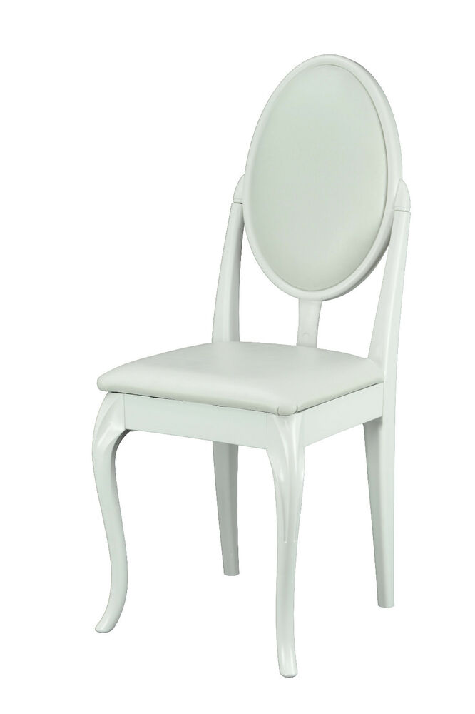 White French Style Dressing Table/ Bedroom Chair with
