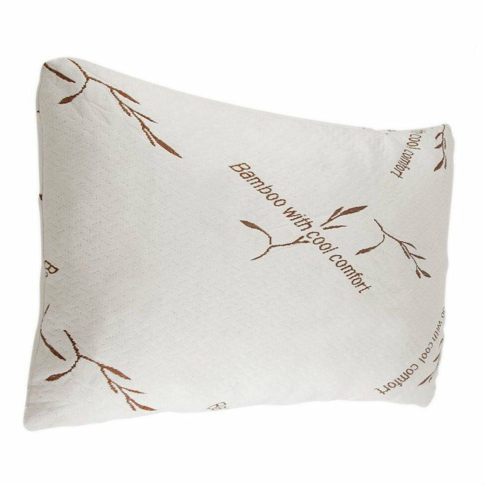 Bamboo Pillow Memory Foam King Size, New Improved Version