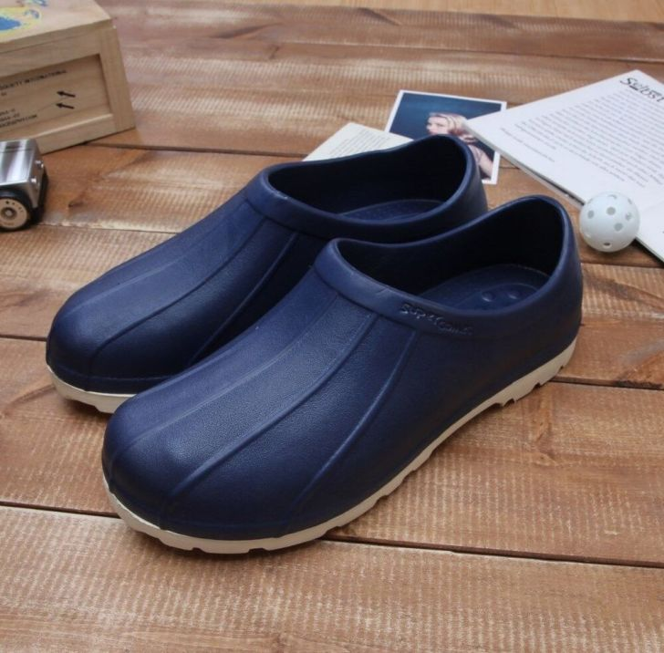 Chef Shoes Non Slip Clogs Water Oil Safety Hospital Fishing Kitchen