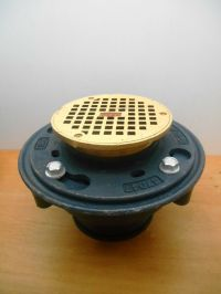 ZURN Z415B HD FLOOR/SHOWER DRAIN WITH 5 B STRAINER BRONZE ...