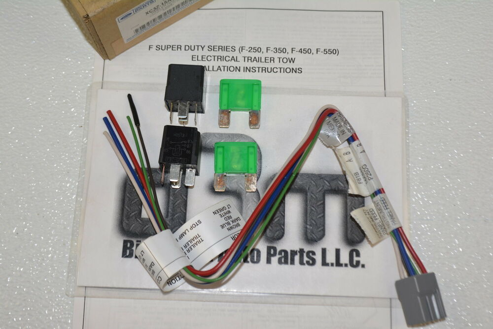 1999 ford super duty trailer wiring harness