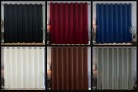 Sliding Glass Patio Door Curtain Drapery Grommet Blackout