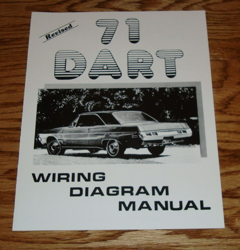 hight resolution of 1971 dodge dart revised wiring diagram manual 71 ebay 71 dodge charger wiring diagram 71 dodge