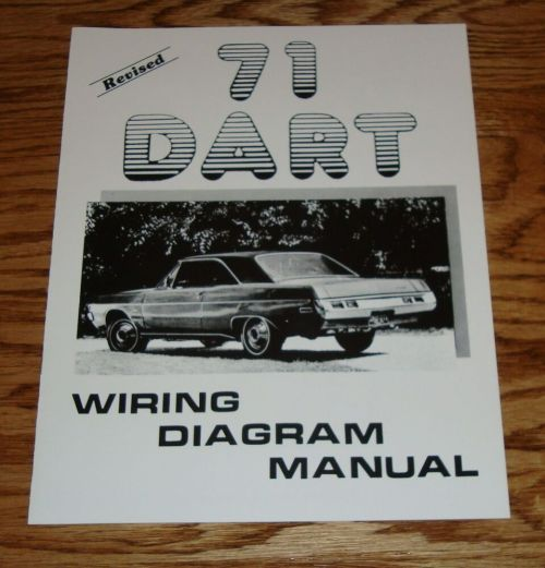 small resolution of 1971 dodge dart revised wiring diagram manual 71 ebay 71 dodge charger wiring diagram 71 dodge