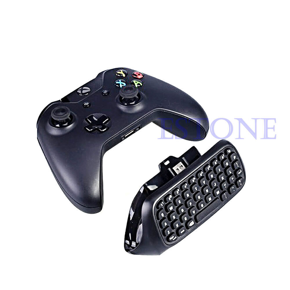hight resolution of  xbox one controller usb black mini usb wireless chatpad message keyboard for xbox