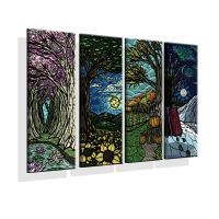 HD Canvas Print home decor wall art Abstract paintings ...