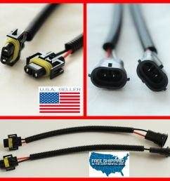 h11 h9 h8 wiring harness socket wire connector plug extension cables hid led bmw ebay [ 1000 x 1000 Pixel ]