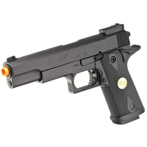 Double Eagle 1911 A1 Full Size Airsoft Spring Hand Gun
